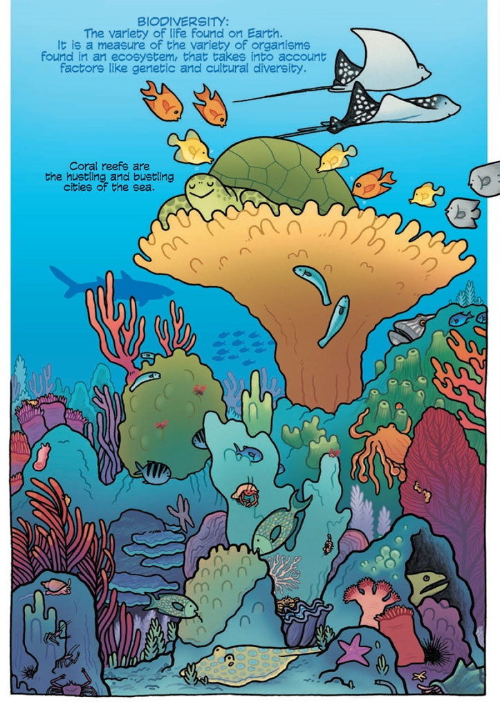 Image result for science comics coral reefs