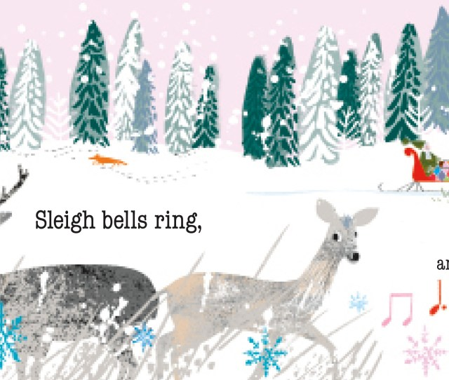 The Classic And Beloved Winter Holiday Song Walking In A Winter Wonderland Is Brought To Life With Bright And Colorful Illustrations