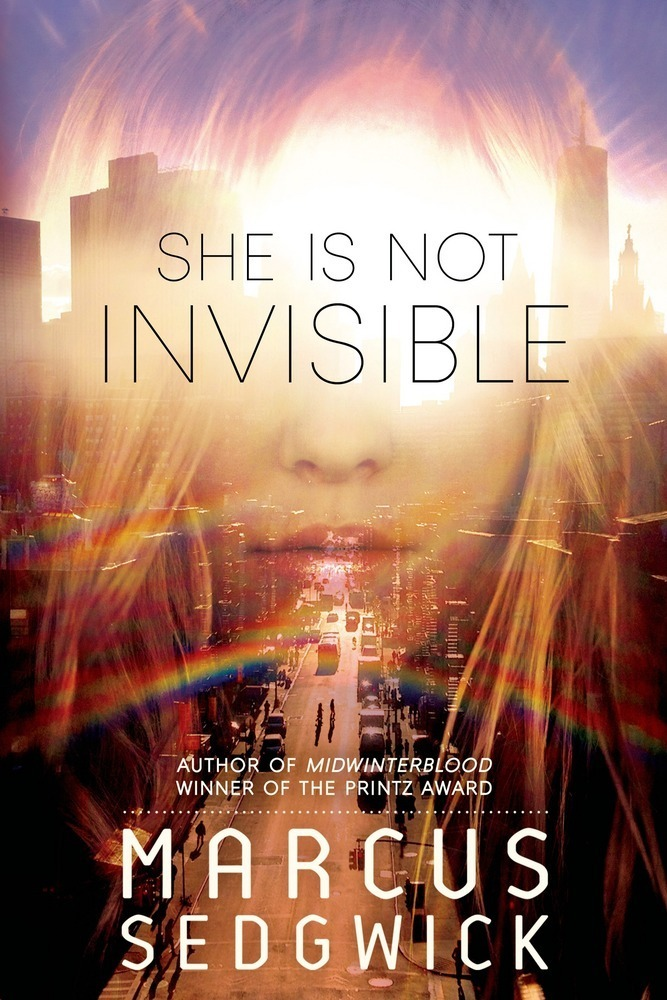 She is not invisible.