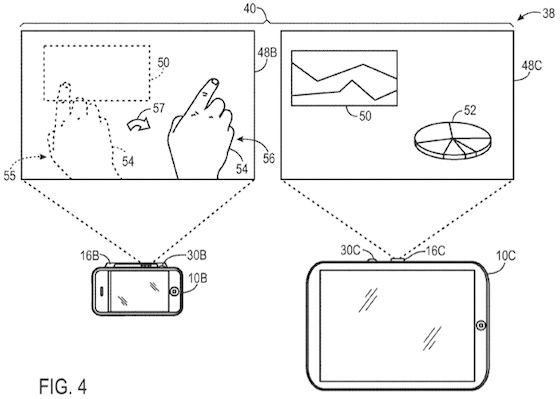 Apple Patent Watch: Pico Projectors and 'Schematic Maps