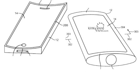 Apple Researching Flexible iPhone Displays with Under