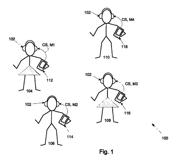 Apple Patent Reveals Interest in 'Silent Disco' App