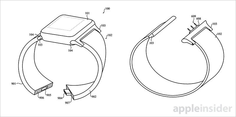Apple Patent Details Modular Smart Bands for Apple Watch
