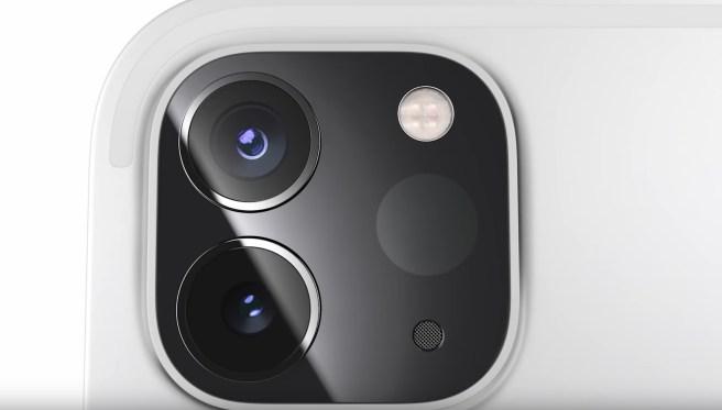 4k dual ipad 2020 camera