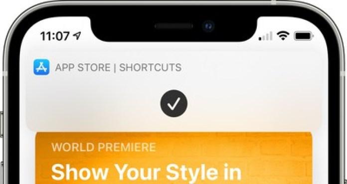 shortcuts home screen banner