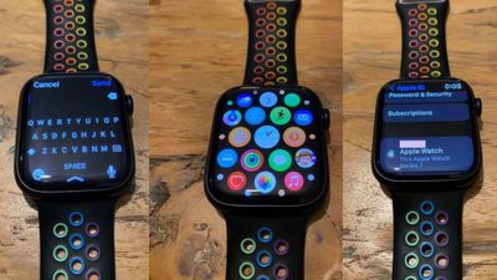apple watch series 7 hands on
