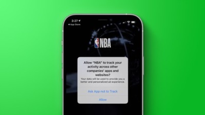nba tracking prompt green