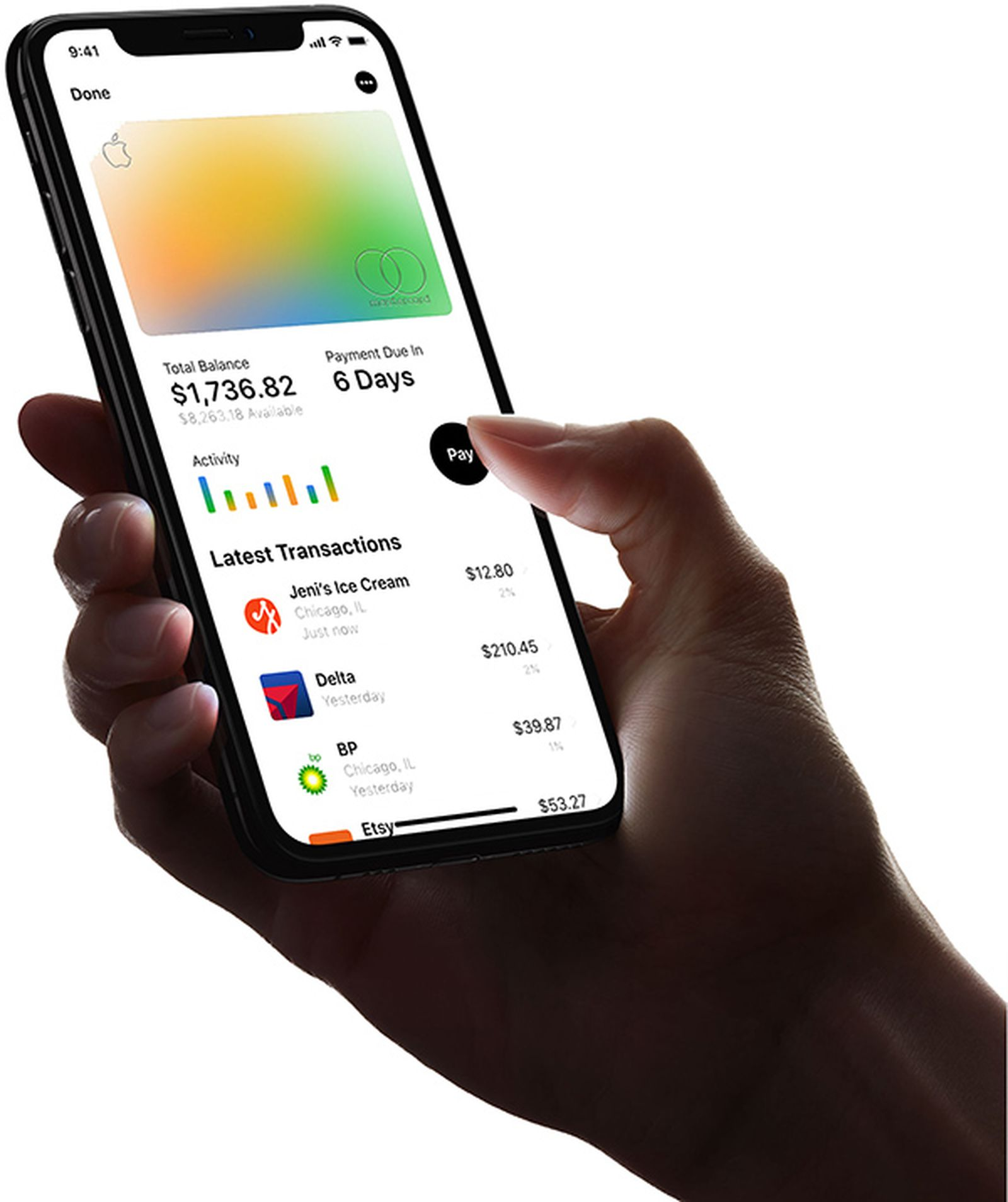 They can also use the optional linked debit card to shop or hit an atm. Apple Card All The Details On Apple S Credit Card Macrumors