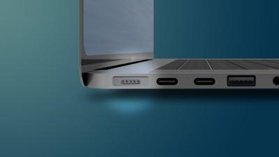 MagSafe 2021 MacBook Pro Mockup Feature