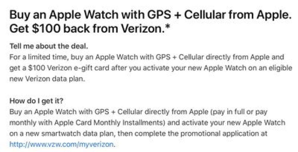 verizon tmo apple watch 7 deal