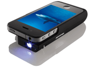Texas Instruments and Brookstone debut iPhone Pocket Projector case