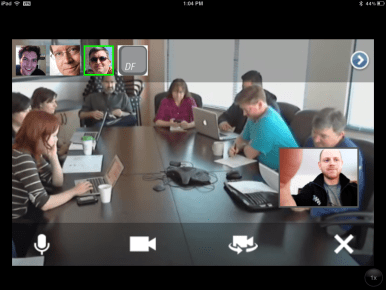 Google hangoput in a Lions club meetings