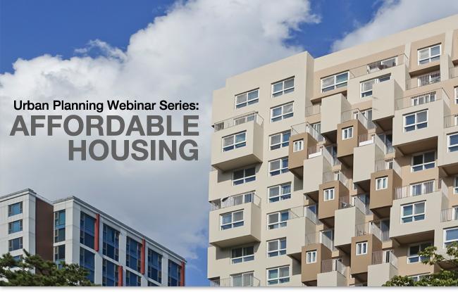 Urban Planning Webinar Series
