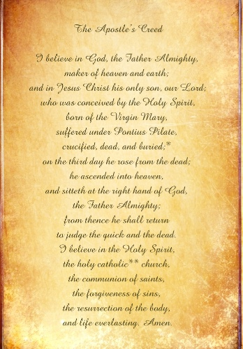 the apostle s creed