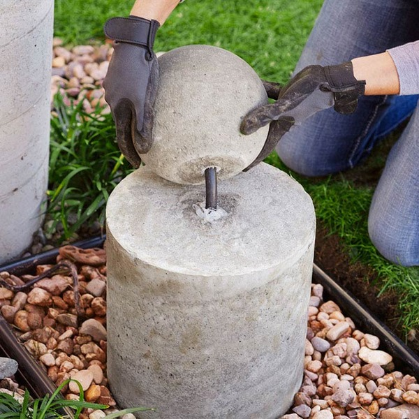 make this diy concrete