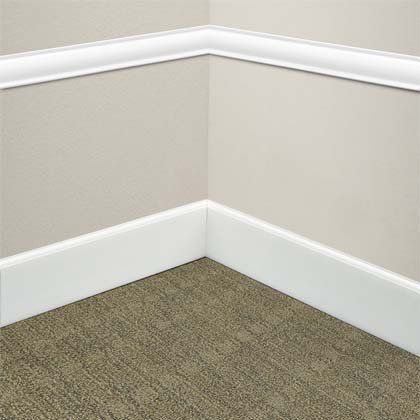 commercial chair rail folding covers spandex edge effects sculptured wall base hard surface mannington effectual
