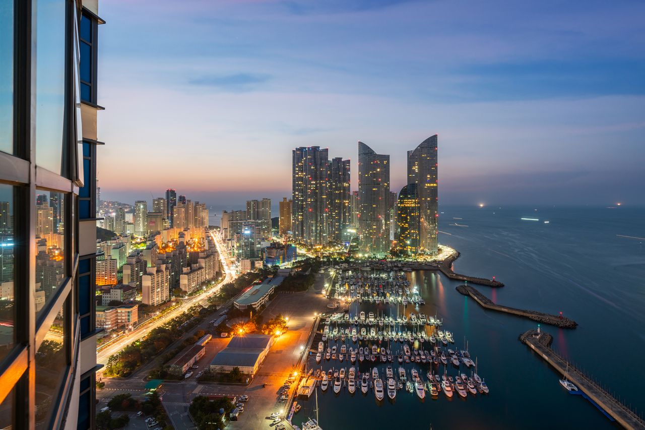 Marine City in South Korea's Busan Offers Yacht-Filled Waters and Shiny, High-Rise Towers - Mansion Global