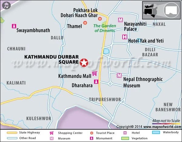 Kathmandu Durbar Square Nepal Location Facts Map