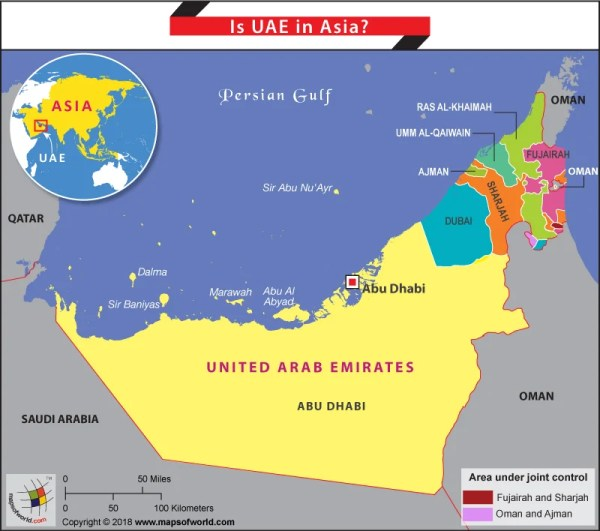 Is UAE in Asia Answers