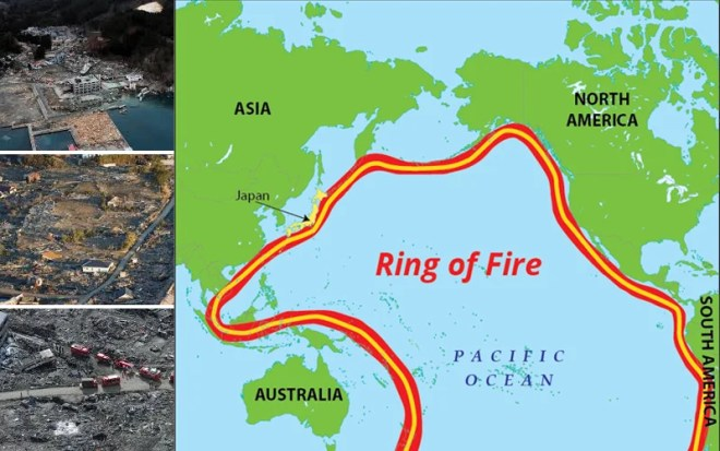 Japan is Located Along the Pacific Ring of Fire, on The Edges of Several Continental and Oceanic Tectonic Plates.