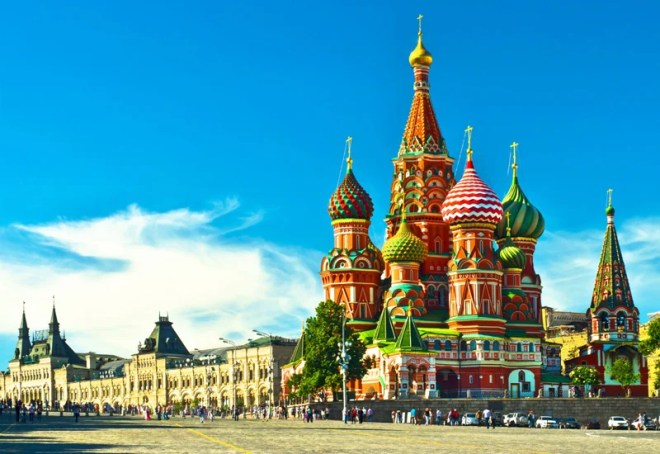 Moscow is a lively city, full of things to see and places to visit.