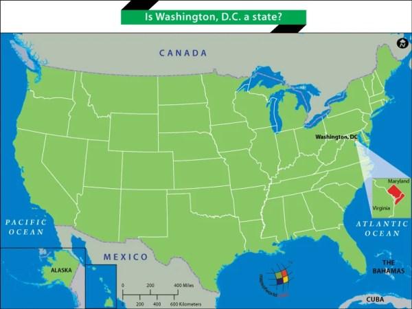 Is Washington DC a state Answers