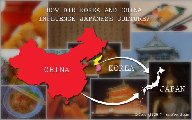 Chinese and Korean Influence on Japan