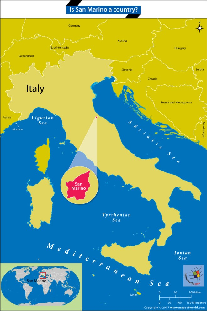 Is San Marino a Country? - Answers San Marino Map on sao tome map, slovakia map, saint kitts and nevis, vatican map, poland map, montenegro map, papal states, serbia map, monaco map, american samoa map, reunion map, usa map, yugoslavia map, vatican city, marshall islands, enclave and exclave, landlocked country, wales map, switzerland map, malta map, faroe islands, seychelles map, italy map, luxembourg map, sweden map, slovenia map, andorra map,