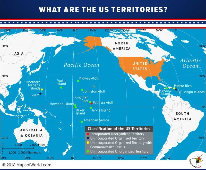 What are the US territories? - Answers