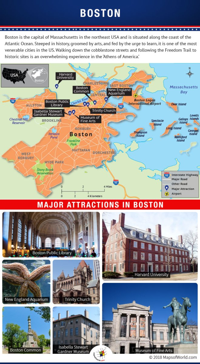 Boston Map Historical Sites.What Are The Popular Places To Visit In Boston Answers
