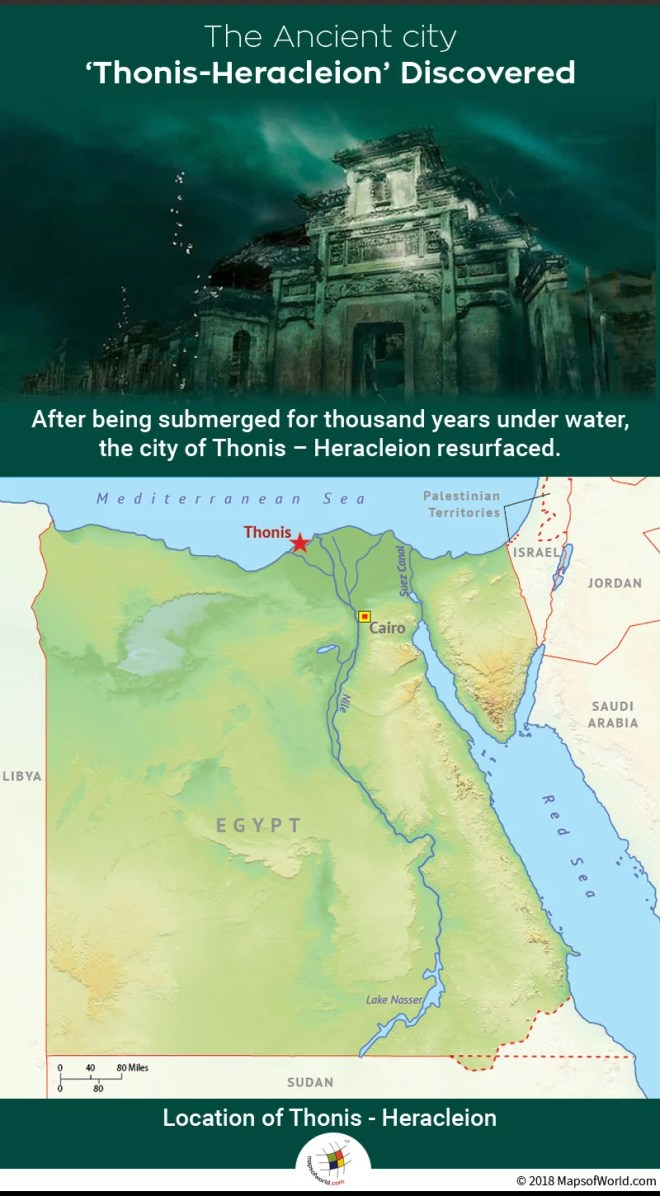 Where Was The Ancient City Thonis Heracleion Located