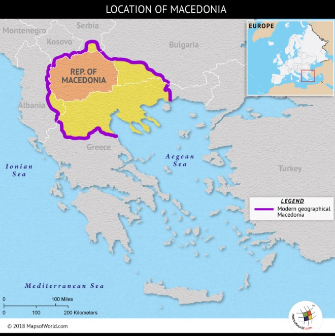 What Is The Macedonian Greece Dispute Answers
