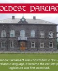 Althing was the Icelandic Parliament which was constituted in 930