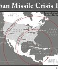 US Map Showing Cuban Missile Range