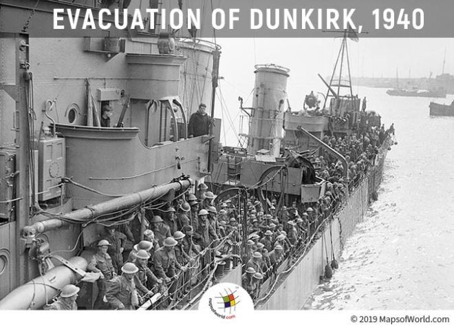 Dunkirk Evacuation is also Known as Miracle of Dunkirk