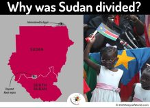 Map Showing Creation of Sudan