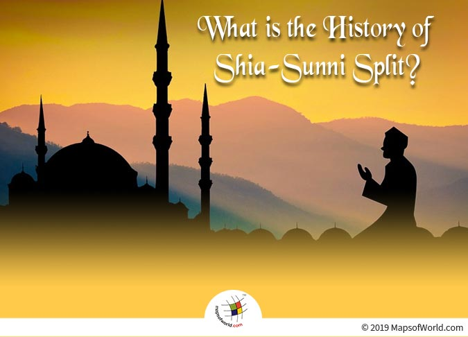 Shia and Sunnis Predominantly Differ in their Religious Organization, Law, Ritual and Doctrine.