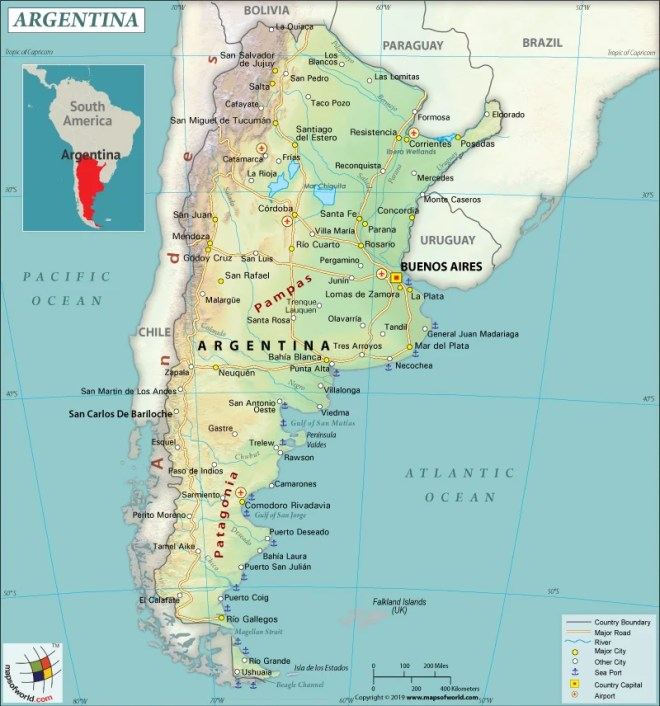 What are the Key Facts of Argentina? - Answers