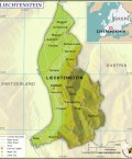 Principality of Liechtenstein Map
