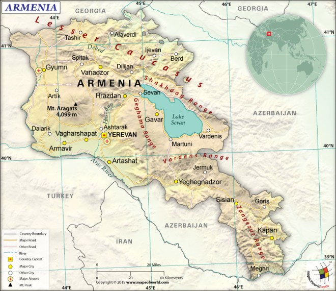 What are the Key Facts of Armenia? | Armenia Facts - Answers