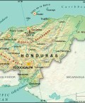 Map of Republic of Honduras