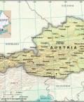 Map of Republic of Austria