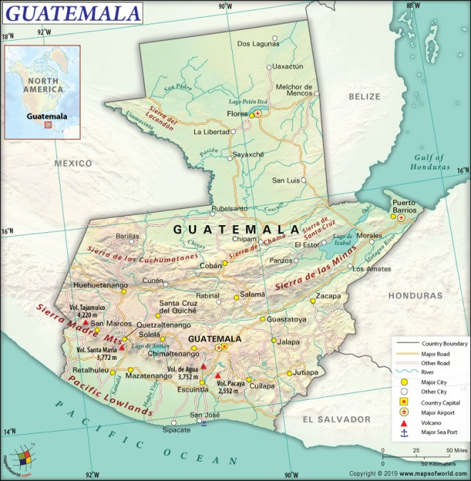 What are the Key Facts of Guatemala? | Guatemala Facts - Answers Map Guatemala on panama map, costa rica, spain map, guyana map, central america, middle east map, ambergris caye map, california map, cuba map, guatemala city, dominican republic, russia map, peru map, puert rico map, antigua guatemala, mexico map, latin america, china map, haiti map, caribbean map, luxembourg map, puerto rico map, el salvador, united states map, dominican republic map, jamaica map, world map,