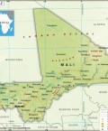 Map of Republic of Mali