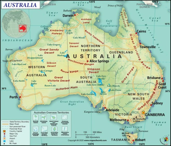 What are the Key Facts of Australia? | Australia Facts - Answers Mountain Range Australia Map Darling on victoria state australia map, great artesian basin australia map, tasman sea australia map, kimberley australia map, deserts in australia map, barkly tableland australia map, western plateau australia map, lakes in australia map, melbourne australia on map, swan valley australia map, aboriginal australia map, gibson desert australia map, kalgoorlie australia map, tasmania australia map, tanami desert australia map, murray river australia map, australia landforms map, albany australia map, canberra australia map, south west australia map,