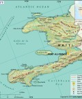 Map of Republic of Haiti