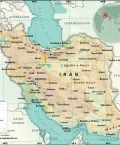 Map of Islamic Republic of Iran