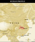 Map Highlighting Location of Wuhan in China