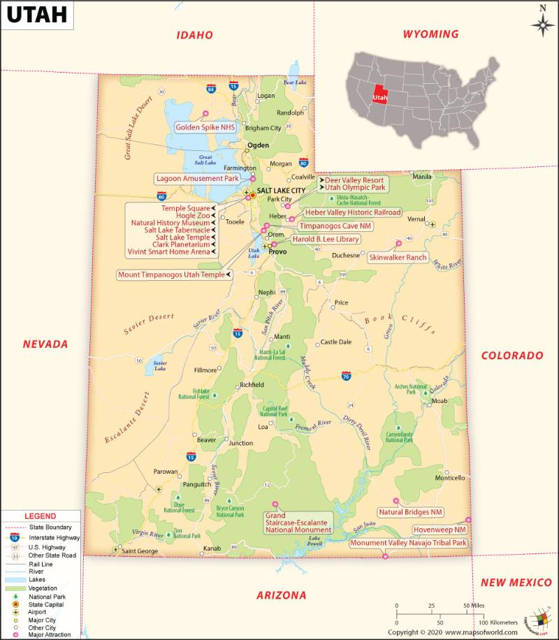 What Are The Key Facts Of Utah Utah Facts