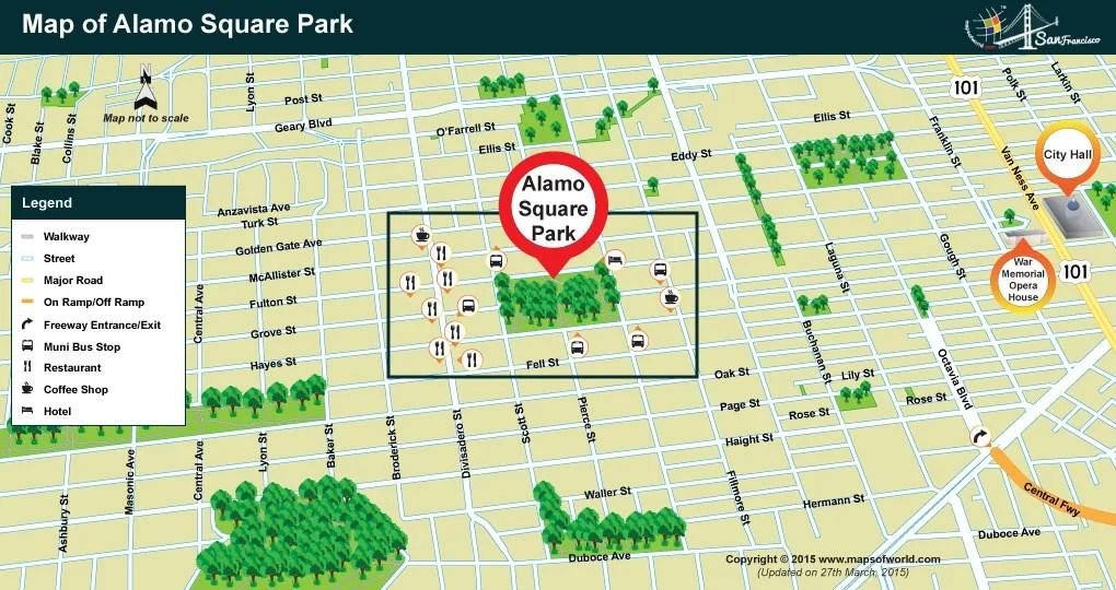 Alamo Square Park San Francisco